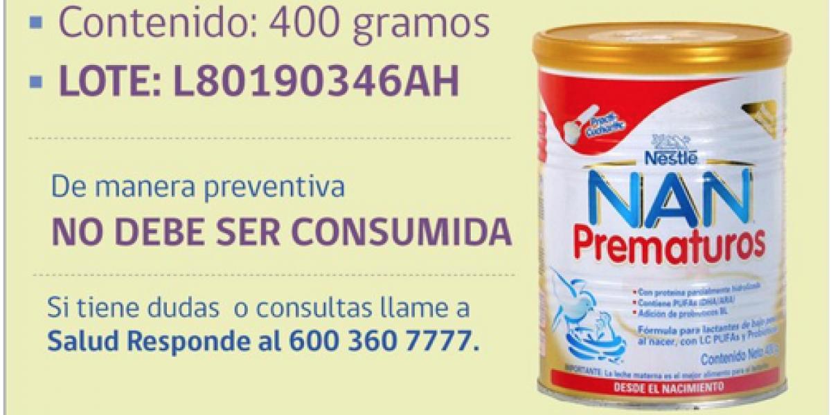 Atención: decretan alerta alimentaria por moho en fórmula para bebés prematuros