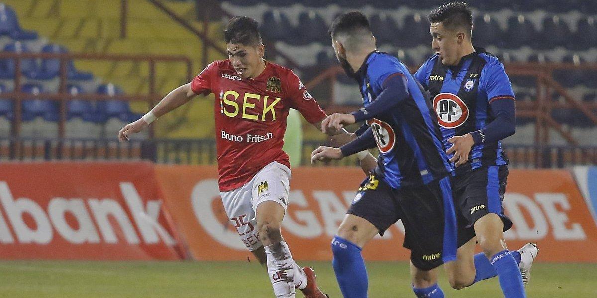 Huachipato no puede ganar ni de local: empató a un gol con Unión Española