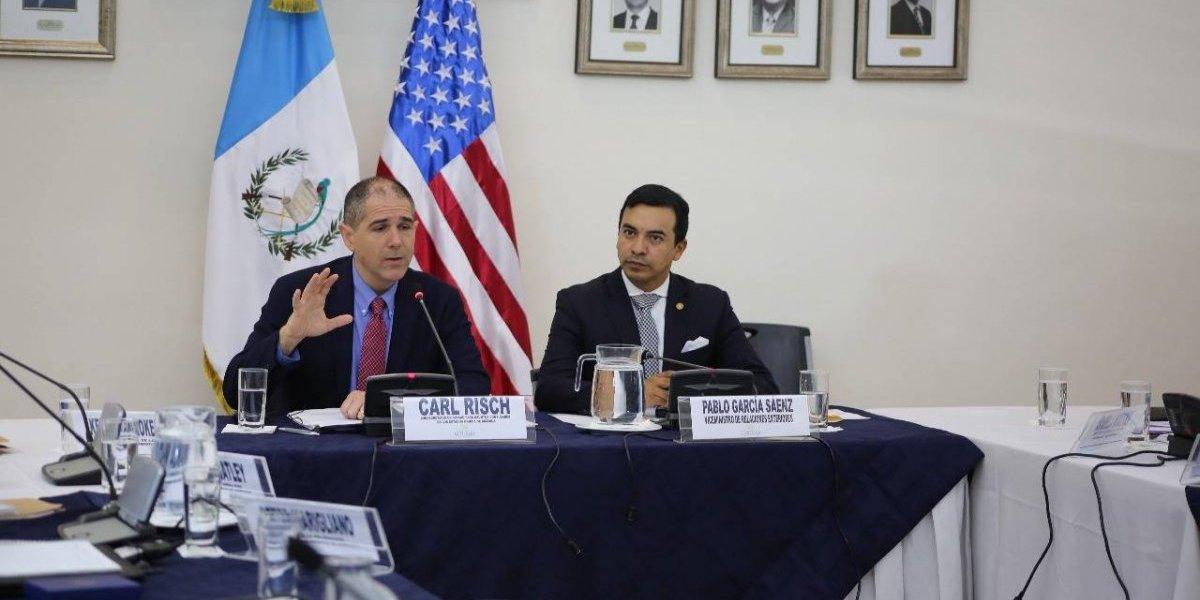 Vicecanciller de Guatemala y Subsecretario de EE. UU. dialogan sobre reunificación familiar