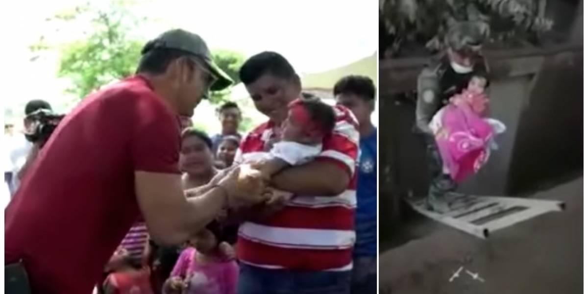 VIDEO. Ricardo Arjona conoce a niña de viral rescate y entrega títulos de propiedad