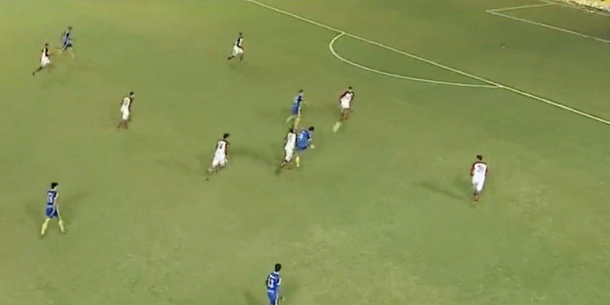VIDEO: Lo contrata equipo de Primera División por meter un golazo