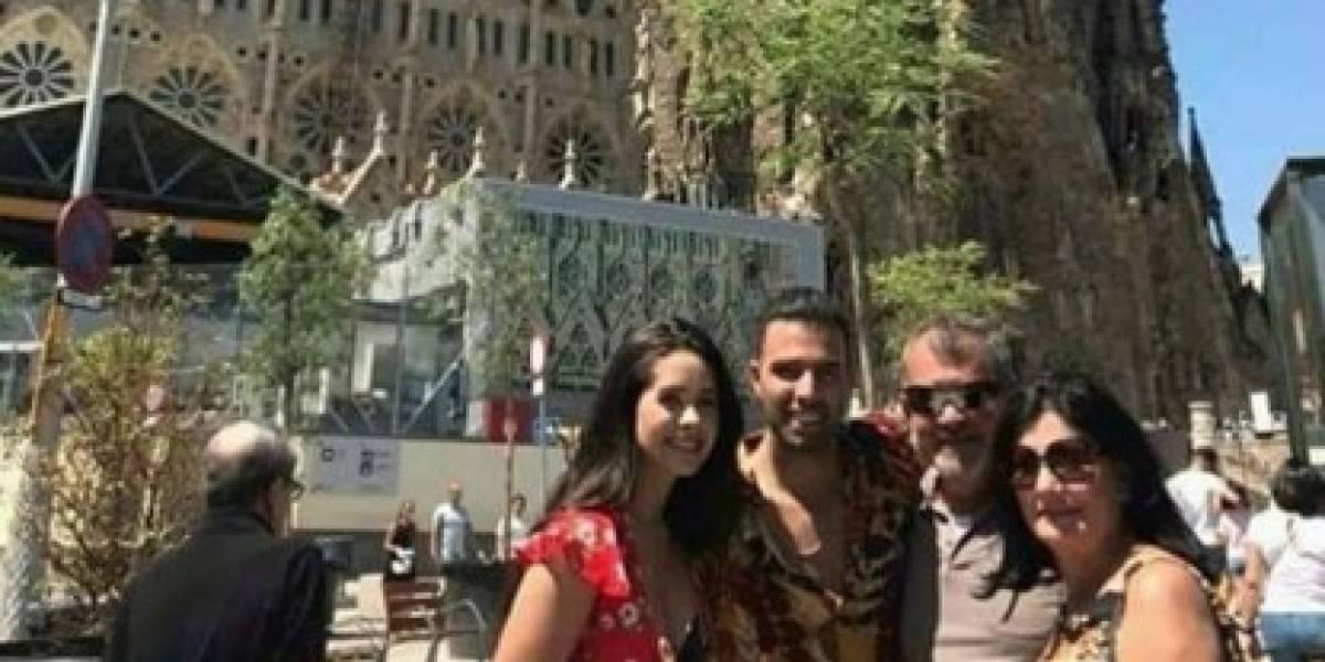 Danna Hernández vive gracioso momento junto a Jencarlos Canela