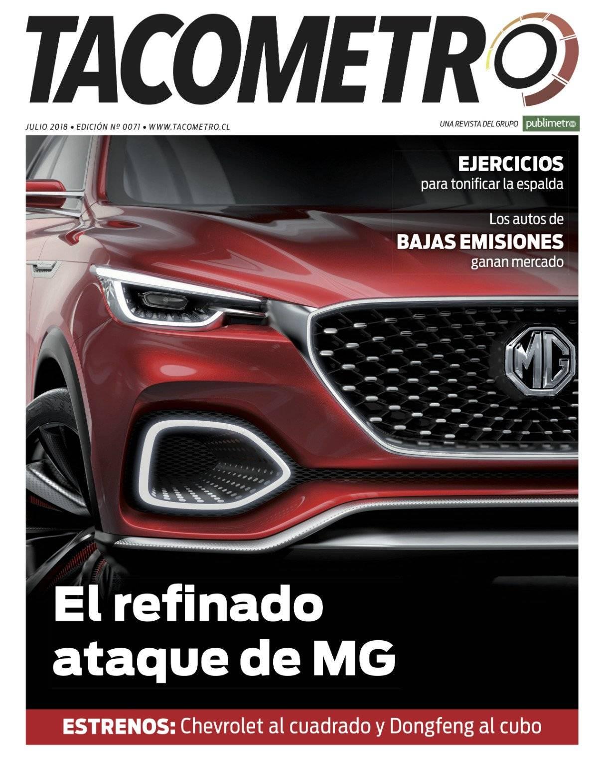 Revista Tacómetro de julio