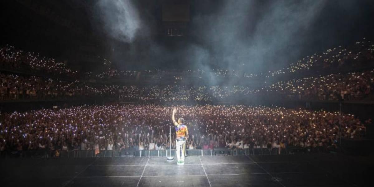 Ozuna inicia con éxito nueva gira de conciertos en Europa