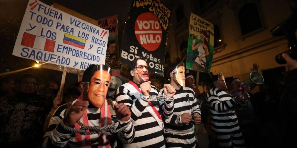 EN IMÁGENES. Perú alza la voz contra la corrupción