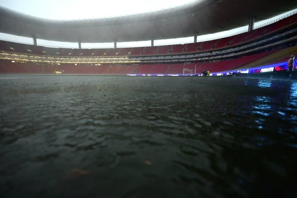 El campo está en muy mal estado. / Mexsport