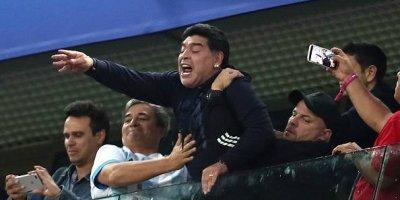 Diego Armando Maradona arremetió contra su sobrino durante un programa televisivo argentino.