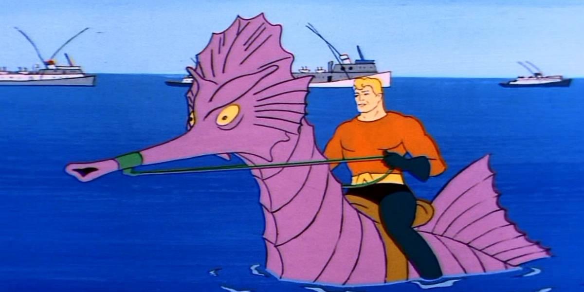 Este es el notable tráiler de Aquaman en versión serie animada antigua