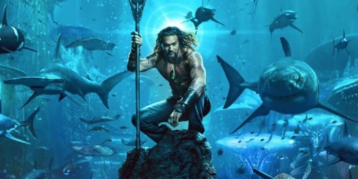 """El tráiler de """"Aquaman"""" que """"inspira oscuras pasiones"""" entre las fanáticas"""