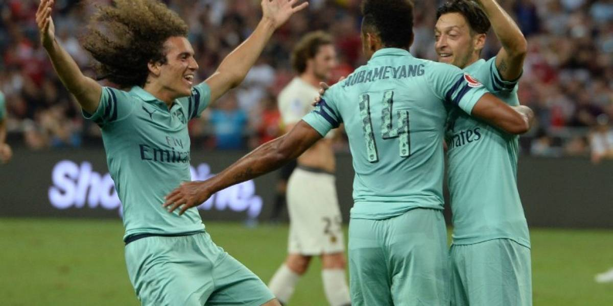 VIDEO. Arsenal humilla al PSG de Buffon en la International Champions Cup
