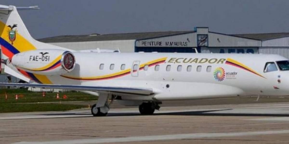 Avión presidencial: Asambleísta de CREO denuncia los gastos en alimentación