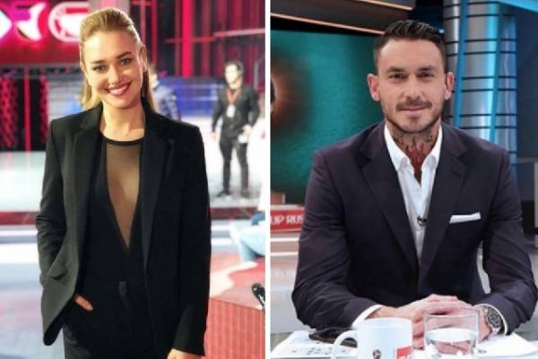 Mauricio Pinilla y Daniela nicolás