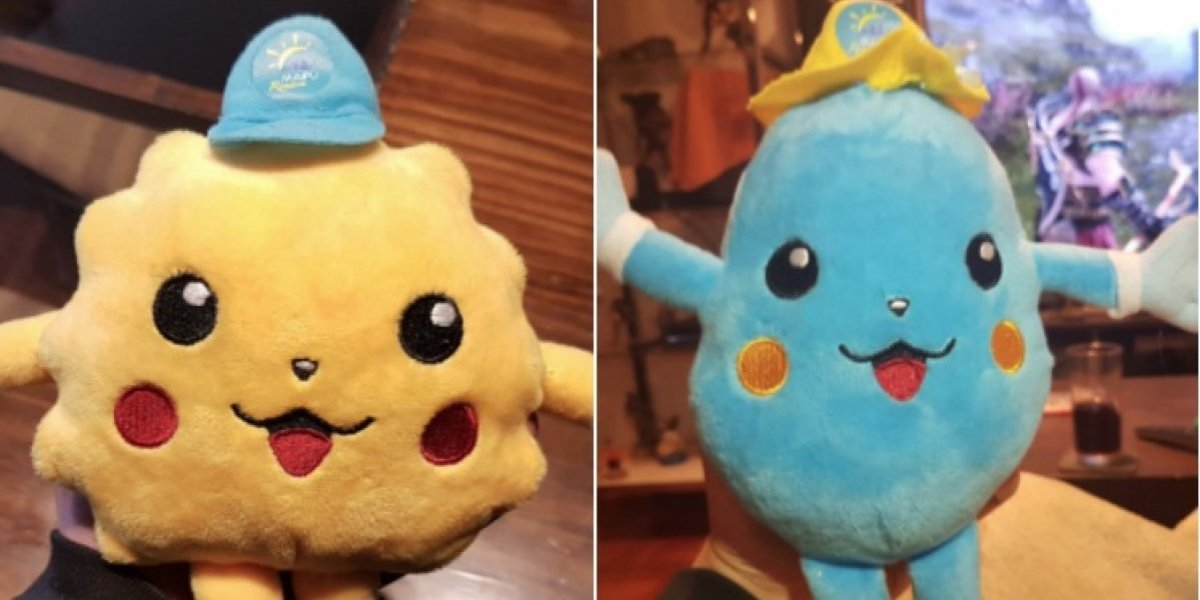 """El más freak de los """"Pikachu"""" y un """"pokémon celeste"""": los peluches de las mascotas de Maipú que generaron risas en Twitter"""