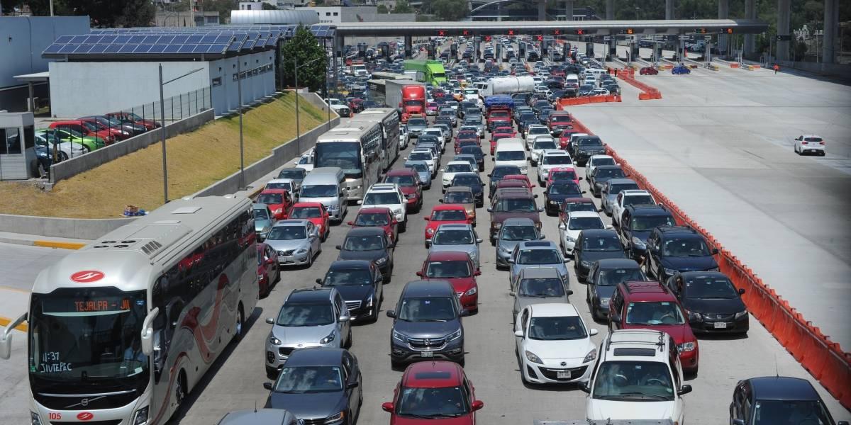 ¿Qué tan llenas están las carreteras este fin de semana?