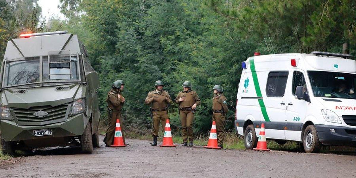 Machi Celestino Córdova ingresa al hospital tras renovarse en su rewe en la mañana: Carabineros resguardó la seguridad del operativo
