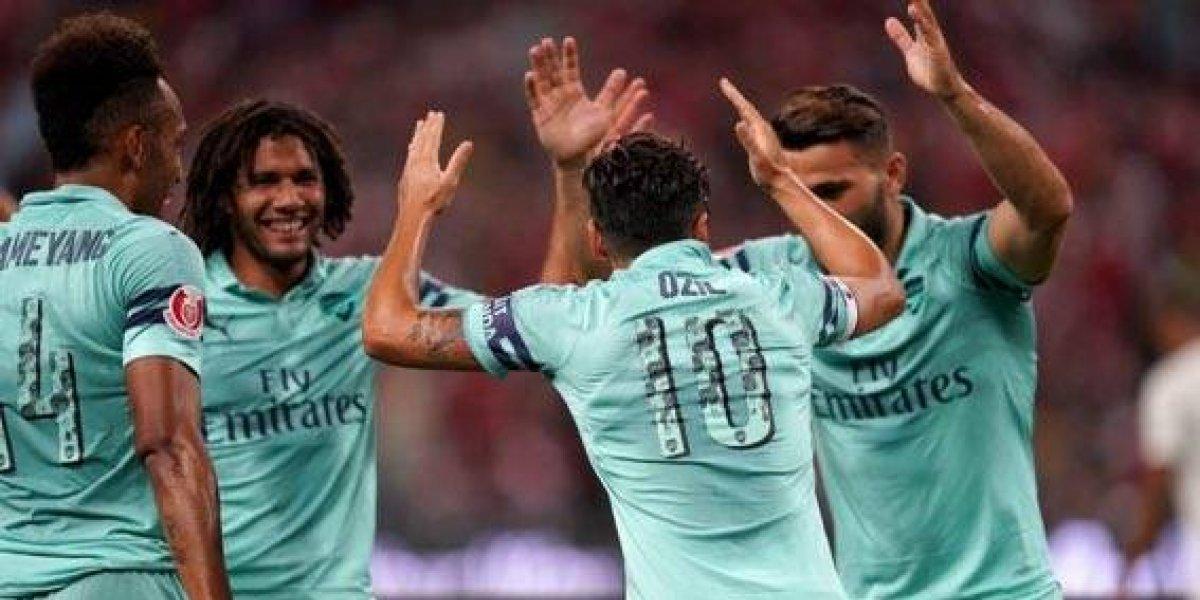 Arsenal no tuvo piedad y vence 5-1 al Paris Saint-Germain