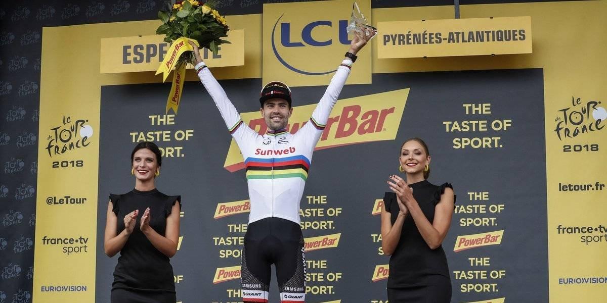 Geraint Thomas prolonga campeonato en el Tour de France
