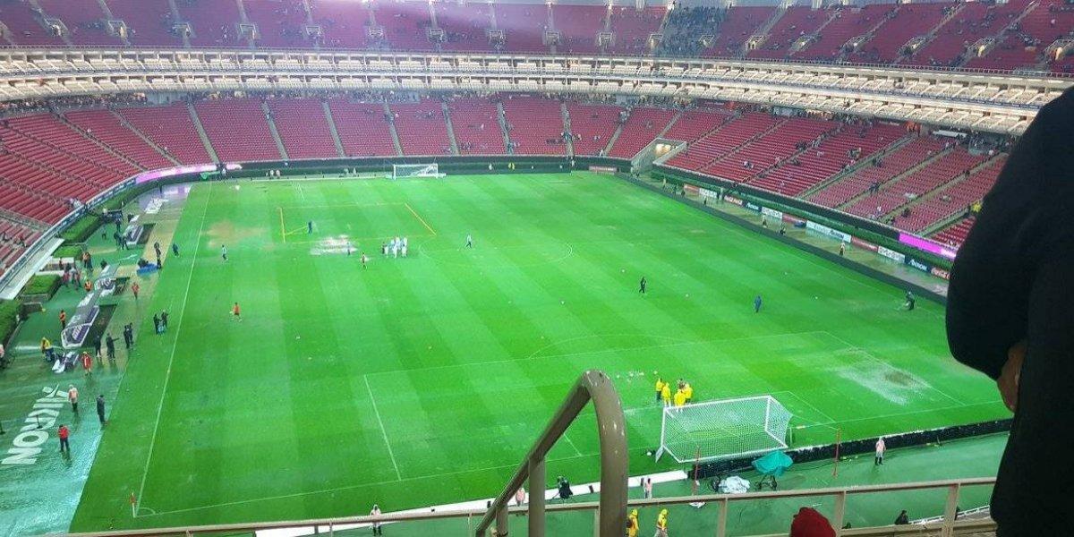 A la espera si se lleva a cabo el partido Chivas vs Cruz Azul