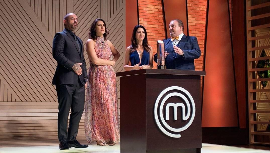 Henrique Fogaça, Paola Carosella, Ana Paula Padrão e Erick Jacquin