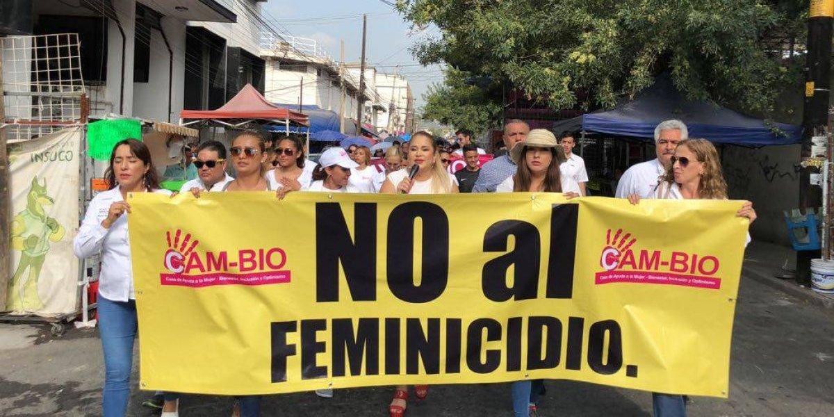 Demandan alto a los feminicidios