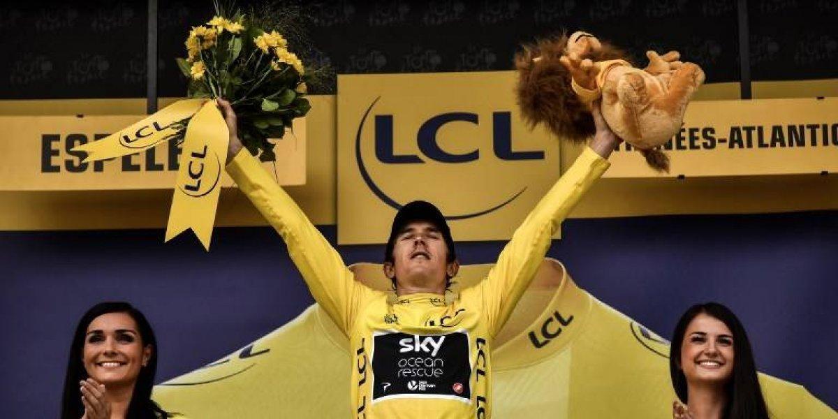 Geraint Thomas gana su primer Tour de Francia y desata la locura