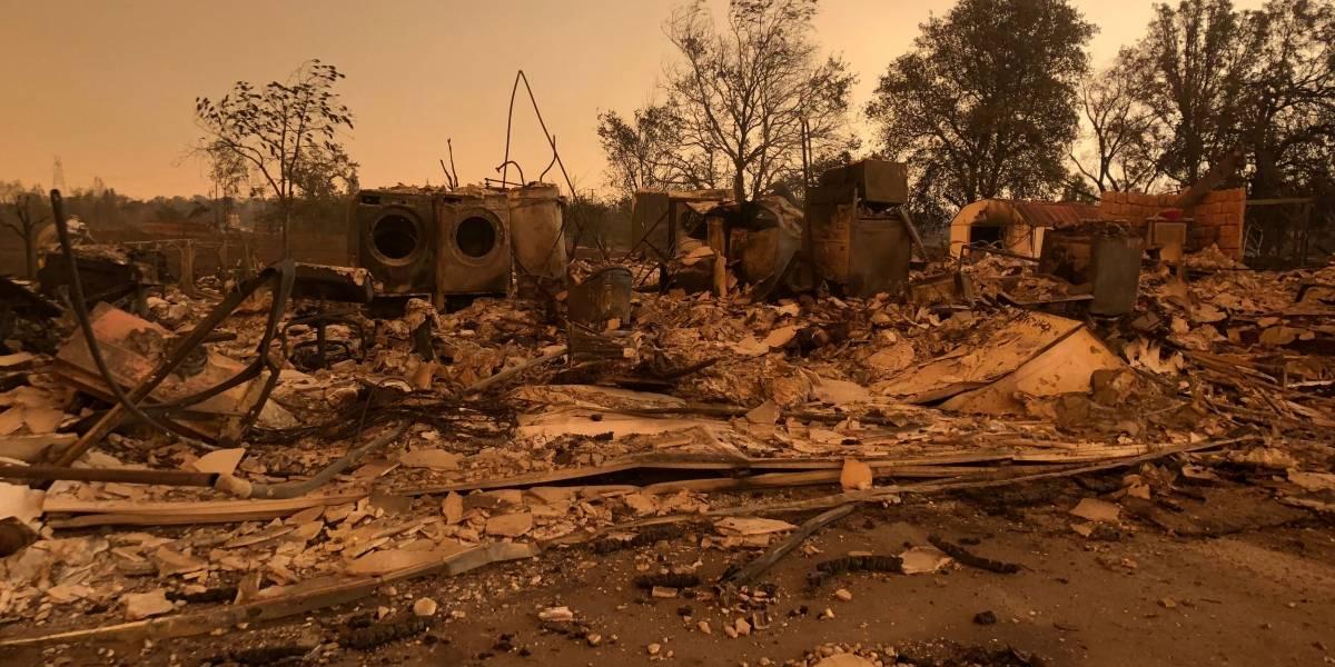 Incêndio no norte da Califórnia se espalha rapidamente