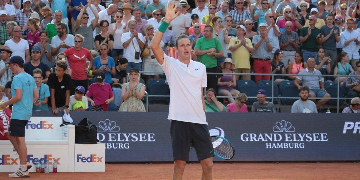 Nicolás Jarry fue preso de sus propios errores y no pudo acceder a la final del ATP de Hamburgo