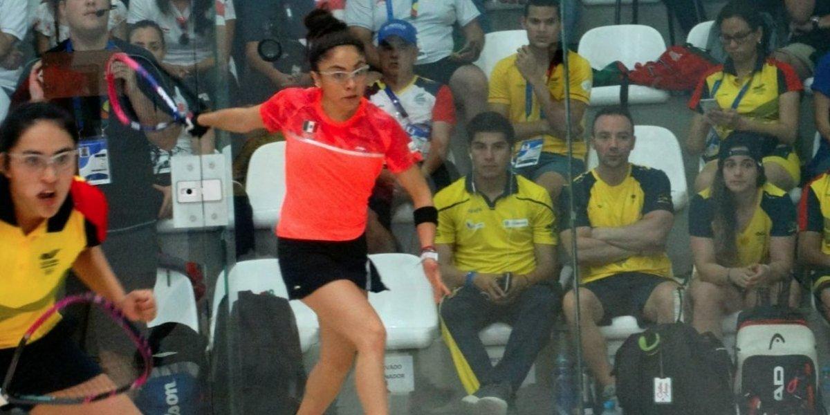 Paola Longoria suma tercer oro en racquetbol y México arrasa en la disciplina