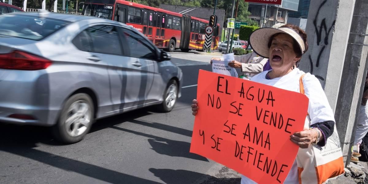 Escasez de agua en la Ciudad de México es por onda de calor: Sacmex