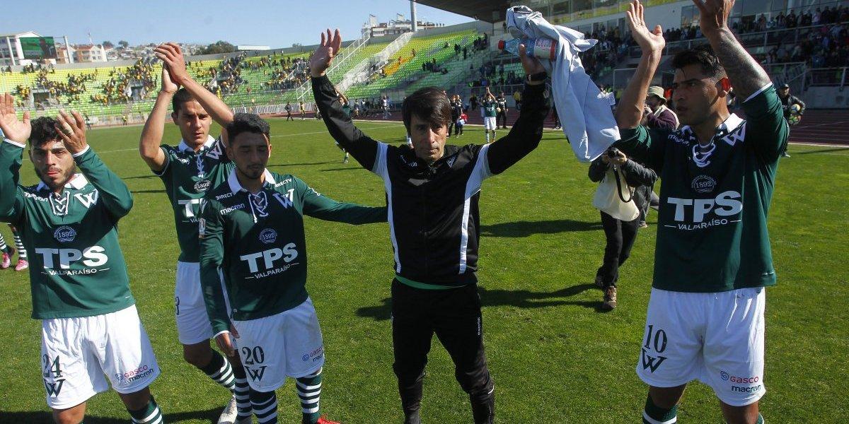 Se despidió con un triunfo: Wanderers venció a Coquimbo en el último partido de Moisés Villarroel