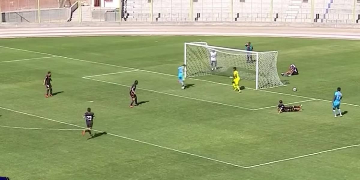 VIDEO: El peor remate a gol en la historia del futbol