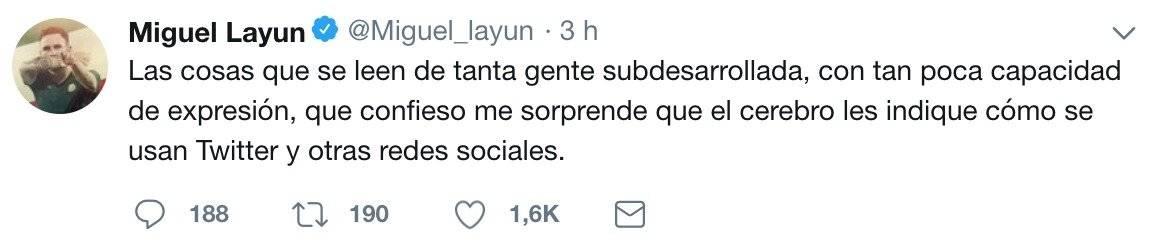 Respuesta de Miguel Layún