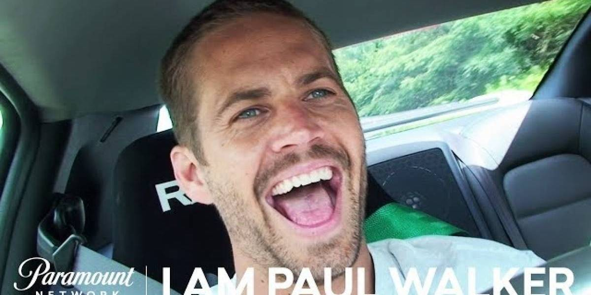"""""""I Am Paul Walker"""": Mira el trailer oficial del documental de la vida del actor"""