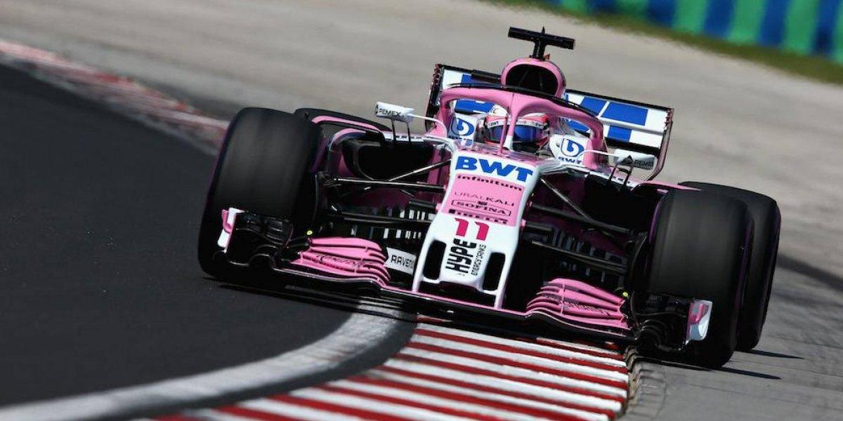 Sergio Pérez arrancará penúltimo en GP de Hungría; Hamilton gana la pole