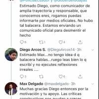 Respuesta a Diego Arcos
