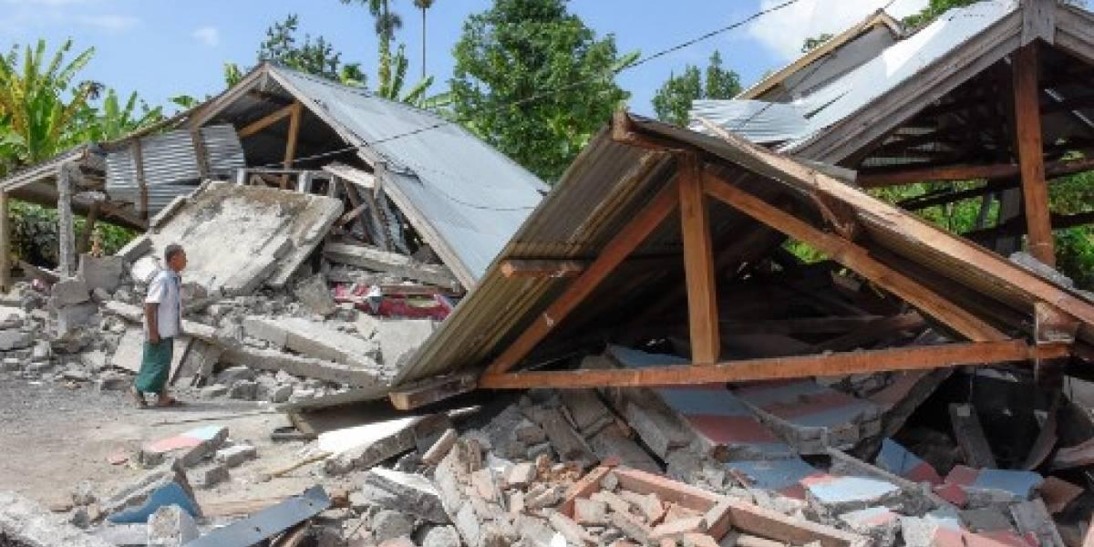 VIDEO. Aumenta a 14 el número de víctimas del terremoto en turística isla de Indonesia