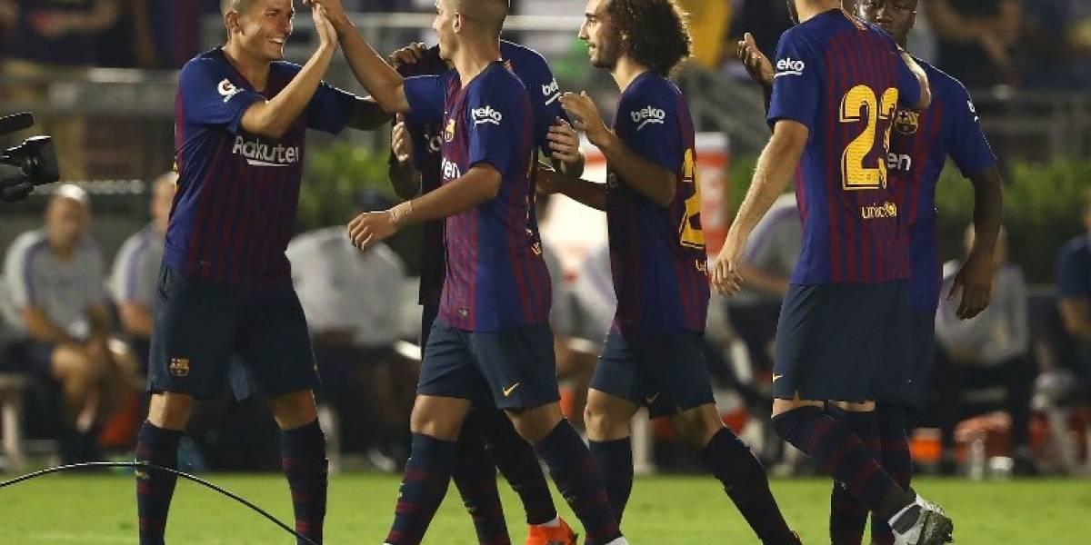 Barcelona vence en tanda de penales al Tottenham