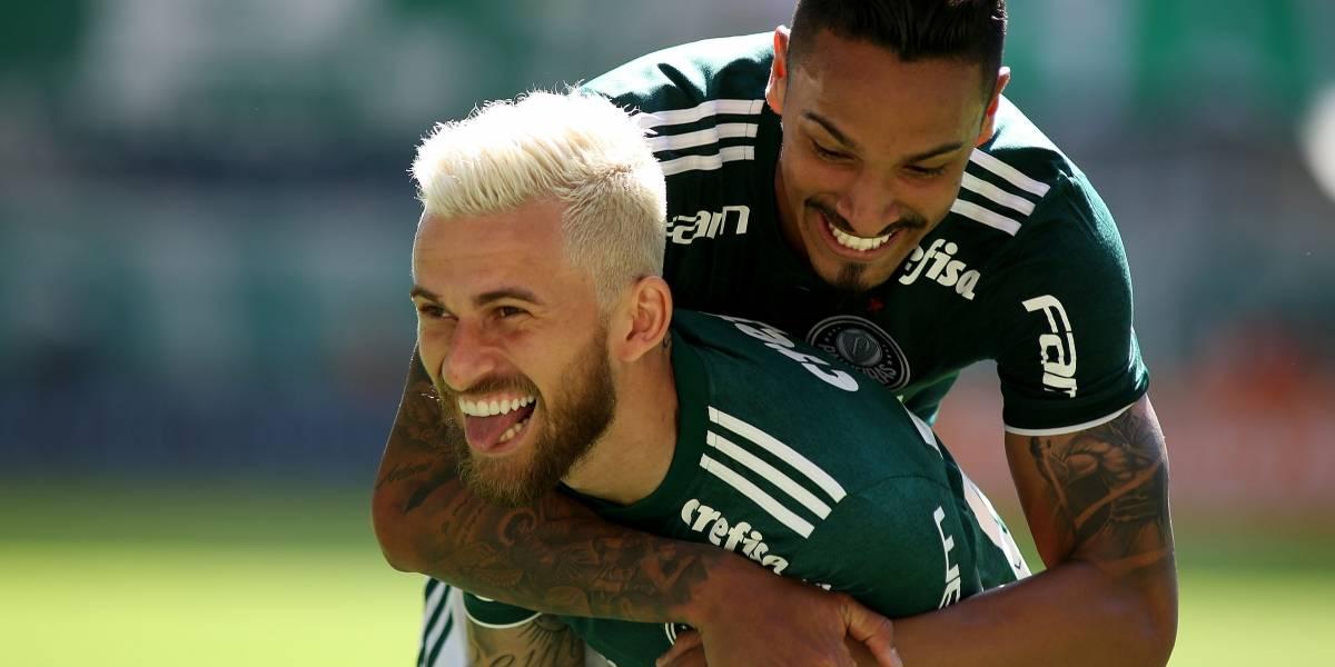 Com 2 de Bruno Henrique, Palmeiras derrota o Paraná em casa sem sustos