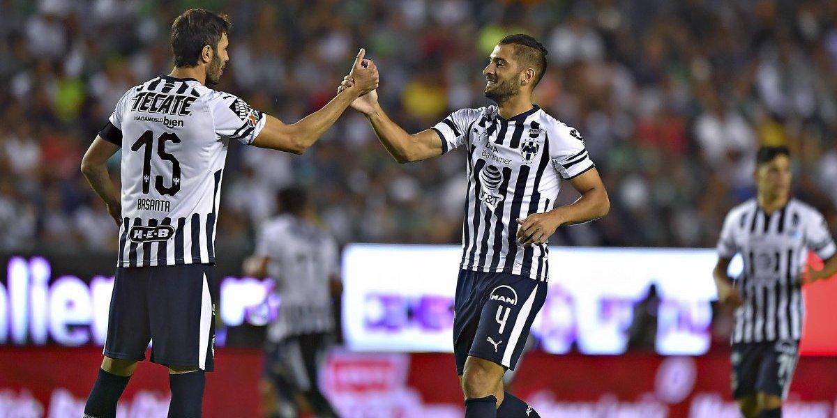 Monterrey suma su segunda victoria del Torneo al vencer al León
