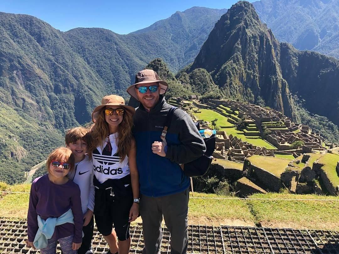 Alexandra Fuentes y David Bernier Instagram