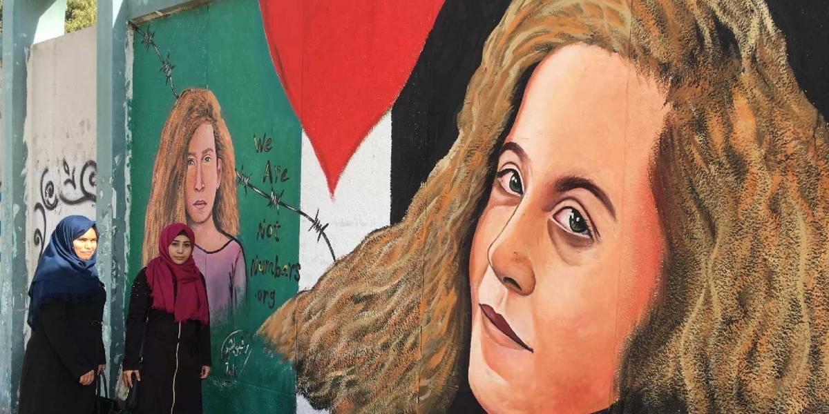 ¡Justicia! Israel libera a joven palestina símbolo de la resistencia