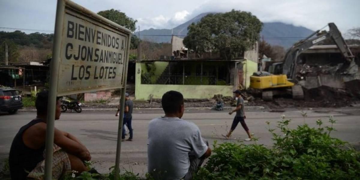 TECHO detiene construcción de viviendas para afectados por el volcán de Fuego