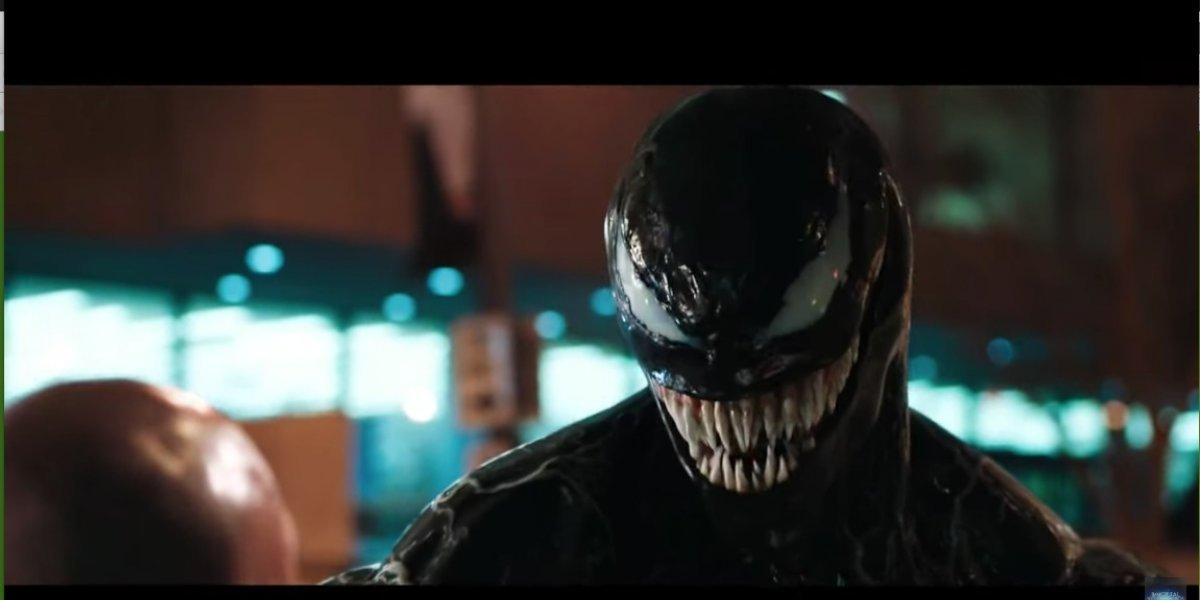 'Venom', la película más perturbadora y violenta del año