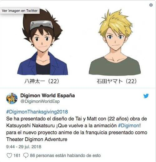 Twiter Digimon Word España