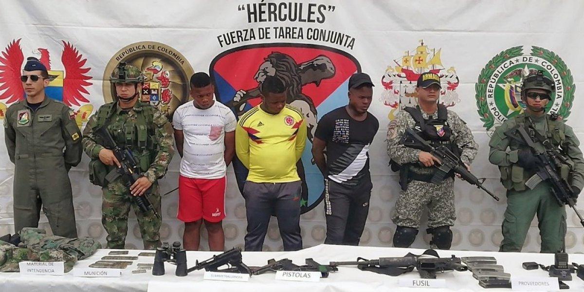 27 integrantes del frente Oliver Sinisterra declaran en Esmeraldas