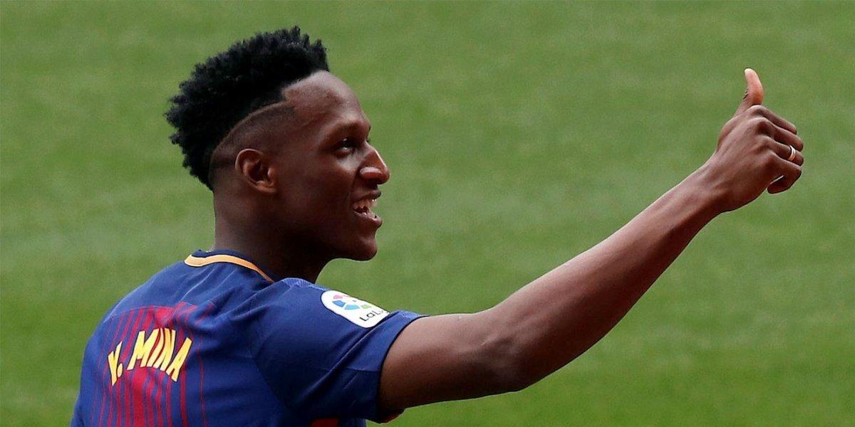 Oficializan la noticia que acerca a Yerry Mina al Everton de Inglaterra
