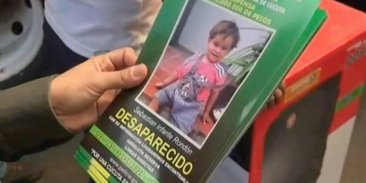 Niño de 18 meses secuestrado en Colombia aparece en Ecuador