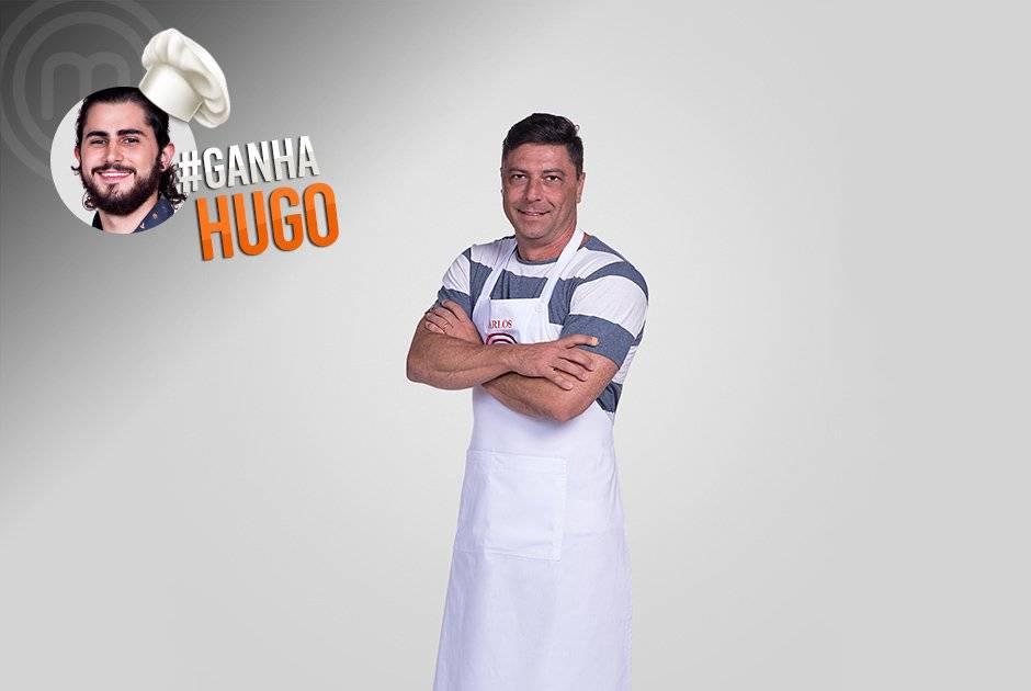 Carlos Oliva também quer ver Hugo levantar o troféu nessa edição Carlos Reinis/Band