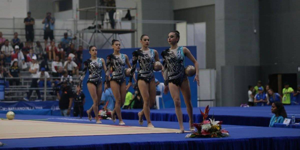 Equipo mexicano de Gimnasia Rítmica gana oro en Barranquilla 2018
