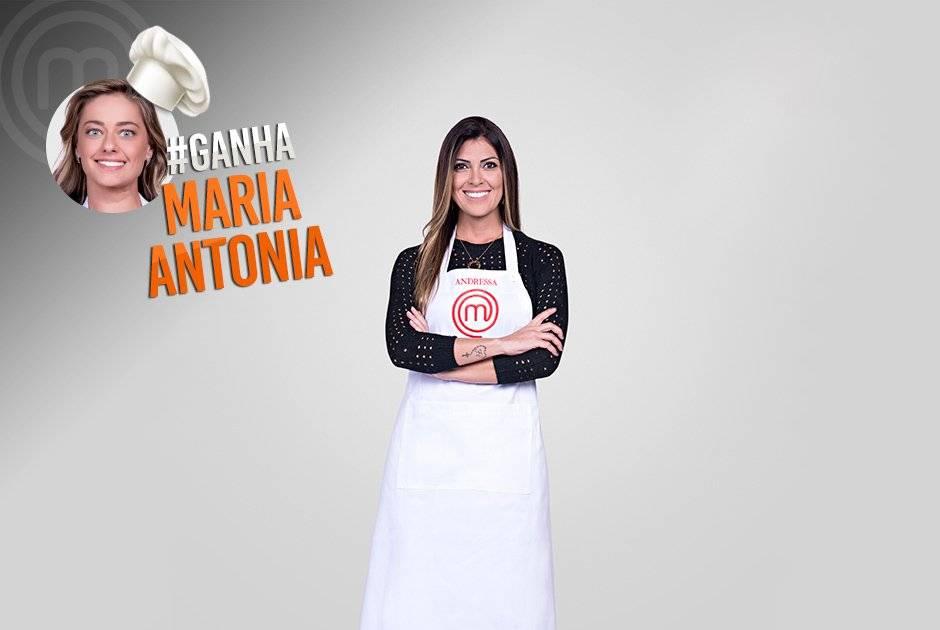 ... e a torcida pela gaúcha Maria Antonia Russi Carlos Reinis/Band